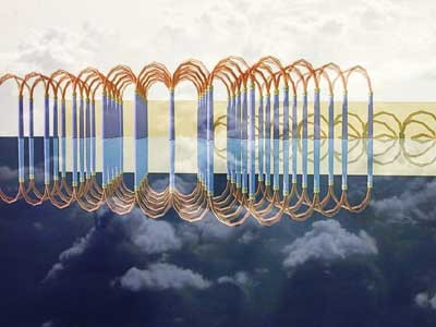 Architecture for Connected Intelligence - Computer Science for art - Mediterranean Design: Ombre e riflessi a Rosyngibal - Rendering 3D - CAD ( Computer Aided Design ) - by Francesco Saverio ALESSIO - copyright © 2002